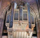 Organ case on the South side