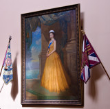 Painting of the The Queen