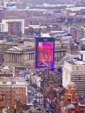 St Georges Hall behind the Capital of Culture advert.