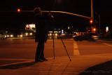 Photographer On The Corner