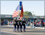 MCAS Marine Color Guard