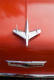 Chevy Hood #3 - Redish Orange