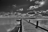 Point Malcom Jetty_black and white.