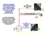 ENGINE AIR CONDITIONER RIGHT BLOWER WIRING DIAGRAM