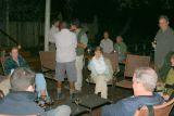 Gathering before dinner