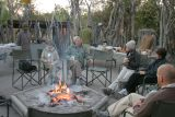 Breakfast is served around the campfire at 6:30 a.m.