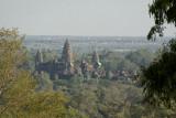 View of Angkor Wat from Bakheng hilltop