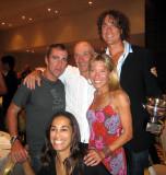 Mark, Valmir, Scott, Kelly (Valmir's wife)