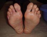 feet immediately post race (well 195 km of the race).  Not ONE blister or even hotspot!