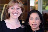 Carmen and Marianna at the Garden Inn