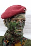 National day in Belgium - a model soldier