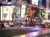 Times Square -  cold night