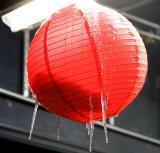 Icicles on a lantern