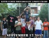 TornadoAlley 3 point champ Keith Ulmer 9-12-2012