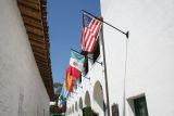 Flags in Historic Santa Barbara