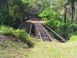 Train tracks from old sugar train