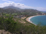 View of St. Kitts from Timothy Hill