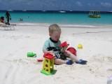 Scott at Carlisle Bay Beach