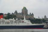 Last visit at Quebec - Queen Elizabeth 2 &Château Frontenac