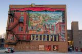 Murale urbaine Québec