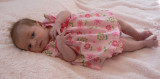 New grand niece LisaClaire Morgan in her pink dress.JPG