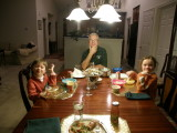 P1170001Sleepover dinner after the circus.JPG