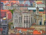 Lisboa - Vista a partir do Castelo de S. Jorge