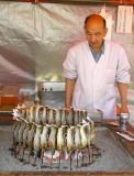 Japanese sweet water fish grill
