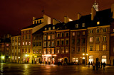 Old City Square at Night