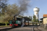 Steam train in Le Crotoy - Fr