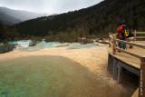 Huanglong Nature Park was a challenging trek.