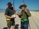 Fishing on Fraser Island