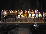 Concierto en el Círculo de Bellas Artes de Madrid de la Coral Cristobal de Morales