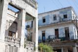 Buenos edificios pero muy deteriorados (La Habana)