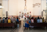 Misa en La Iglesia de El Salvador (La Habana Vieja)