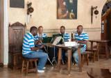 Cuarteto en el Hotel Los Frailes