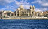 The Cathedrale de la Major  from the sea