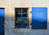The blue little window in the sun....