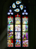 Stained glass windows have always a special magic....