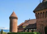 Walking around Chenaux Castle...