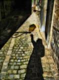 Disquieting shadows of Diagon Alley...