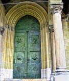 The door....