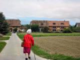 Walking back to Arnex...