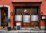 The small italian restaurant