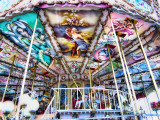 The psychedelic carousel of Place de Verdun