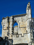 The gothic ruins of the most ancient church...