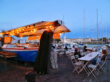 A very peculiar little restaurant by the port....