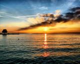 Sunrise explosion....