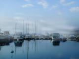 The last vestiges of fog...