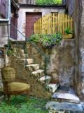 Diagon Alley cosy small courtyard
